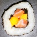 Maki Saumon mangue